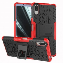 Sony Xperia L3 Tyre Defender Cover Red