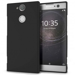 Sony Xperia XA2 Silicon Black Cover