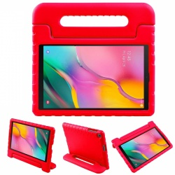 Samsung Galaxy Tab A Case 10.1(2019) SM-T510 Case for Kids Cover with Stand Red