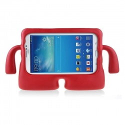 Samsung Tab A 10.5 (T590) Case for Kids Cover with Carry Handle Red