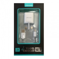 Home Charging Adapter With Micro USB Cable|USAMS