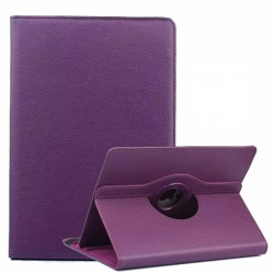 Universal Tablet 7 inch 360 Rotating Case Purple