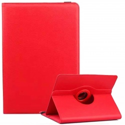 Universal Tablet 7 inch 360 Rotating Case Red