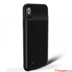 iPhone X USAMS Battery Charger Case  3200mAh Power Bank Cover Black