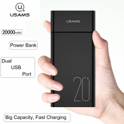 Power Bank With Dual USB Ports 20000mAh |PB14|USAMS