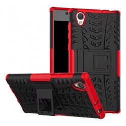 Sony Xperia L1 Tyre Defender Cover Red