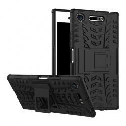 Sony Xperia XZ1 Compact Tyre Defender Cover Black