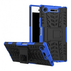 Sony Xperia XZ1 Tyre Defender Cover Blue