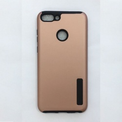 Huawei P Smart  Shockproof Dual Layered Back Case RoseGold