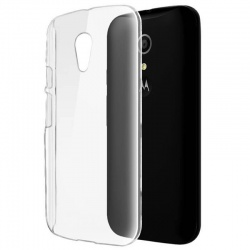 Motorola G2  Silicon Case Clear