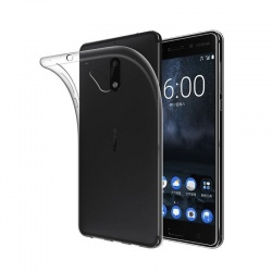 Nokia 3 Silicon Case Clear