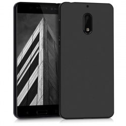 Nokia 6 Silicon Case Black