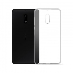 Nokia 6 Silicon Case Clear