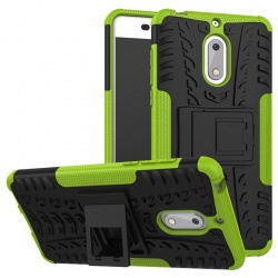 Nokia 6 Tyre Defender Green