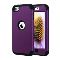 iPod Touch (5th/6th Generation)  Hybrid Protector Cover Purple/Black