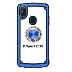 Huawei P Smart 2019 Blue Case With Ring Holder