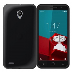 Vodafone Smart Prime 6 Silicon Case Black