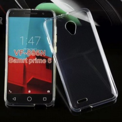 Vodafone Smart Prime 6 Silicon Case Clear