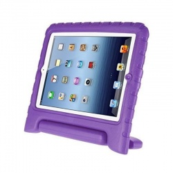 iPad Mini 1/2/3/4/5 Case for Kids Shockproof Cover with Handle |Purple
