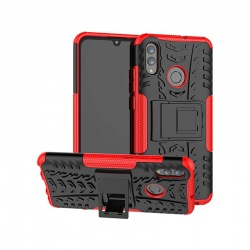 Huawei P Smart 2020 Tyre Defender Cover Red