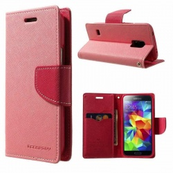 Samsung Galaxy S5 Fancy Diary Case Pink