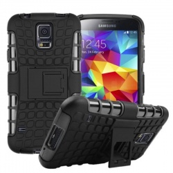 Samsung Galaxy S5 Tyre Defender Cover Black
