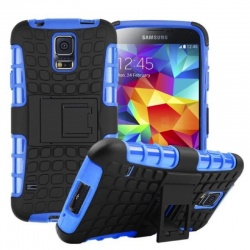 Samsung Galaxy S5 Tyre Defender Cover Blue
