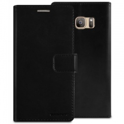 Samsung Galaxy S7 Bluemoon Wallet Case  Black