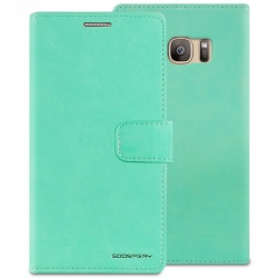 Samsung Galaxy S7 Bluemoon Wallet Case  Mint