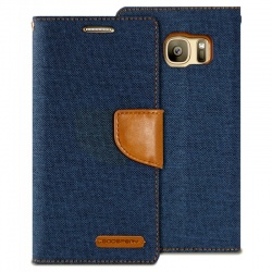 Samsung Galaxy S7 Canvas Wallet Case  Denim