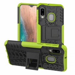 Samsung Galaxy A20e - Tyre Defender Green