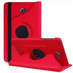 Samsung Galaxy Tab A-10.1 T580  360 Rotating Case Red