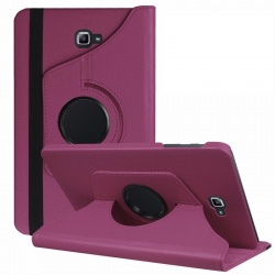 Samsung Galaxy Tab A-10.1 '' 360 Rotating Case Purple