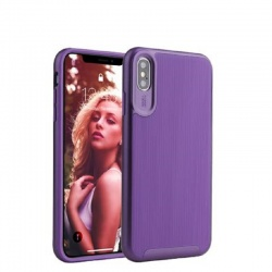 Samsung Galaxy A50 Wavelength Shockproof Case | Purple