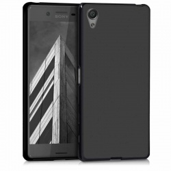 Sony Xperia X  Silicon Case Black