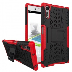 Sony Xperia XZ Tyre Defender Red