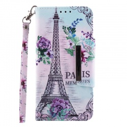 Huawei Y6 2019 Wallet Case Paris