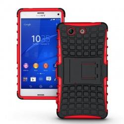Sony Xperia Z3 Mini Tyre Defender Red