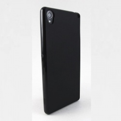 Sony Xperia Z3 Silicon Case Black