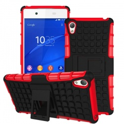 Sony Xperia Z3 Tyre Defender Red