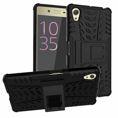 Sony Xperia X Tyre Defender Black