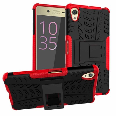 Sony Xperia X Tyre Defender Red