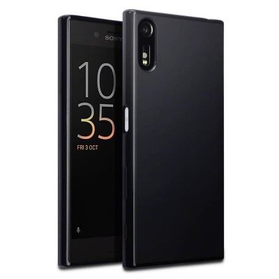 Sony Xperia XZ Silicon Case Black